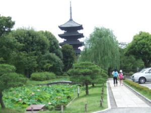 世界遺産東寺