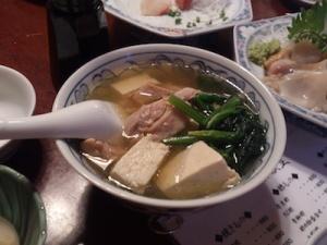 三州屋鶏豆腐
