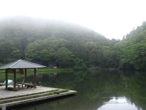 コテージ池畔