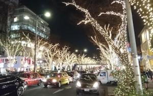 FOS忘年会2015表参道イルミネーション