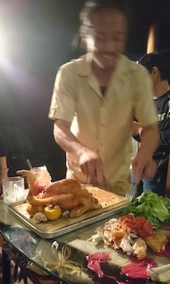 FOS7周年シャモ解体