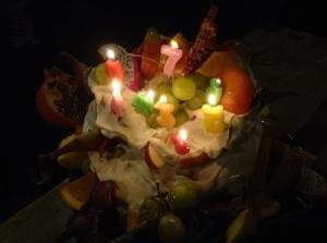 FOS7周年ケーキ