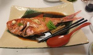 魚四季8金目鯛の煮付け