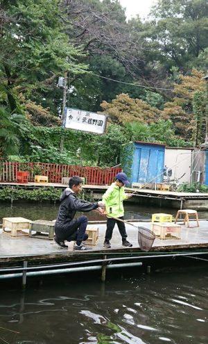 武蔵野園つり堀3